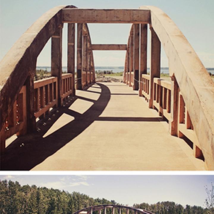Concrete Bow-string Bridge